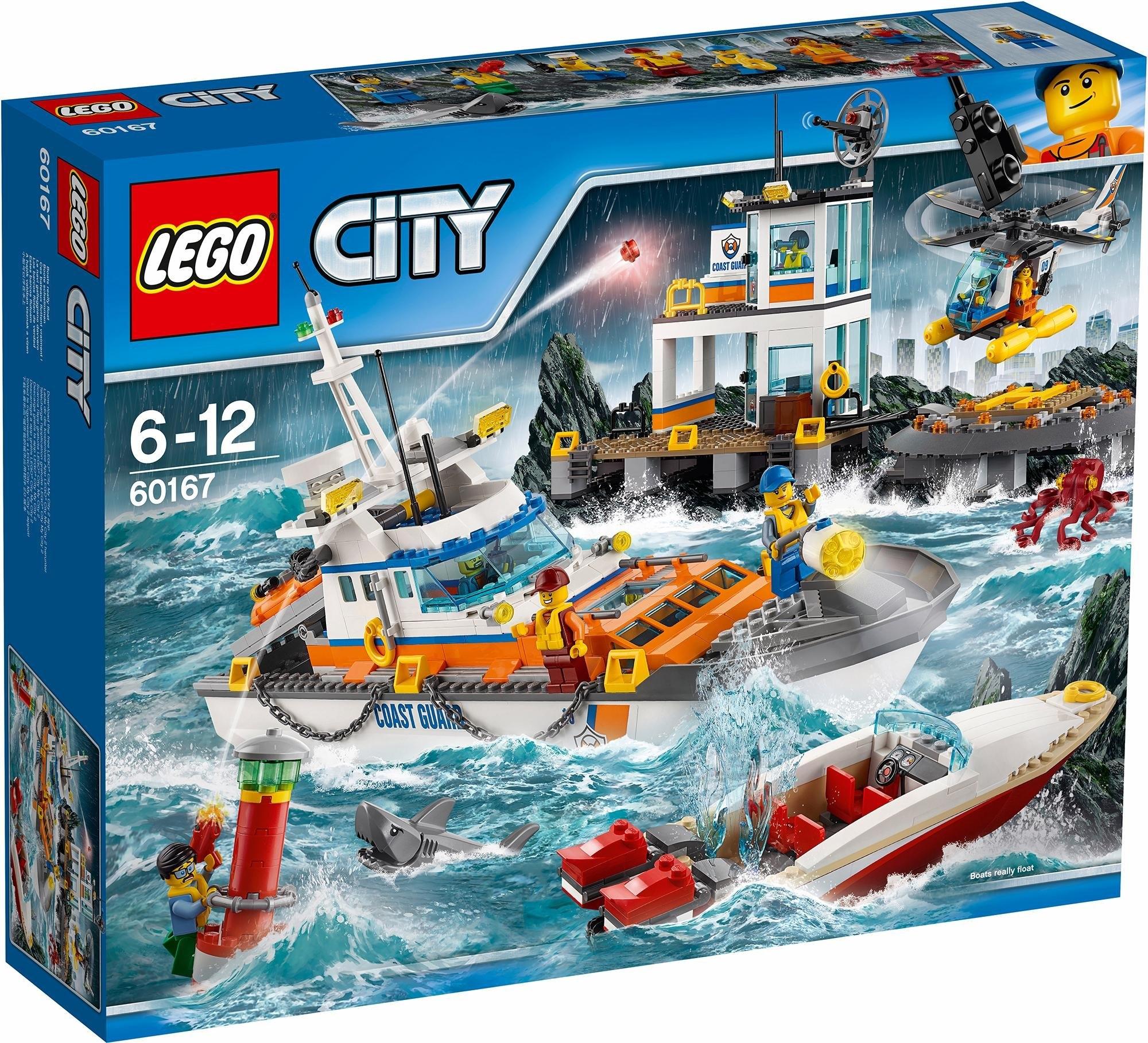 Lego kustwacht 60167 lego city online shop otto for Lago shop online