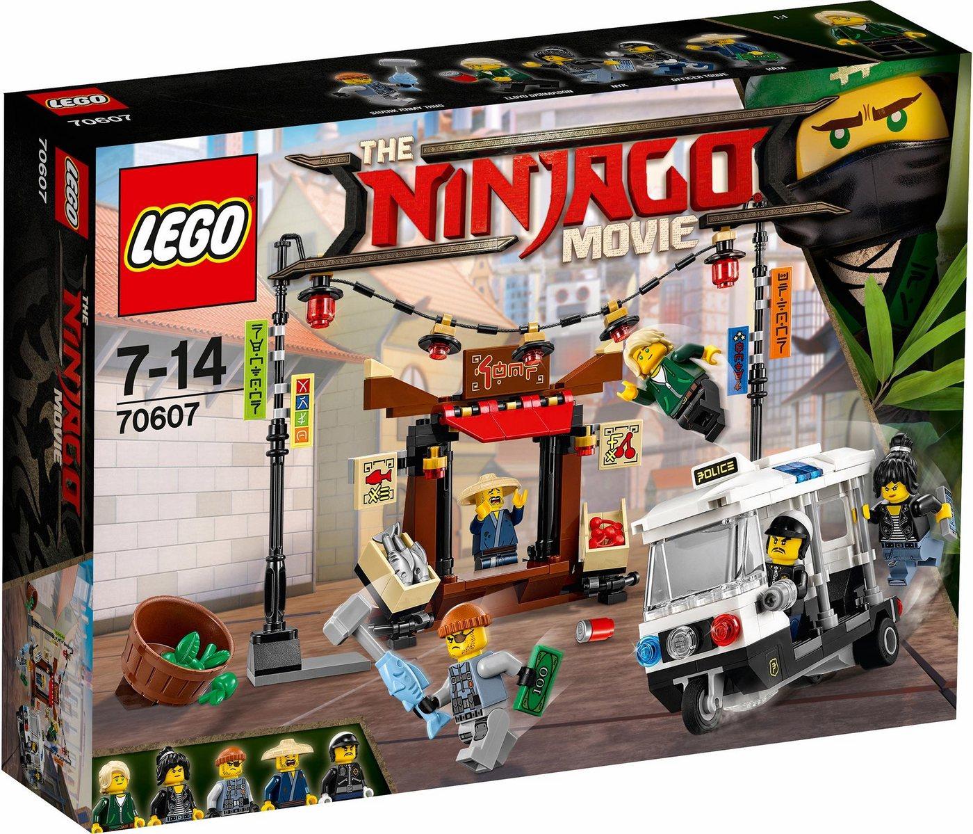 LEGO® Achtervolging door de stad(70607 ), LEGO® NINJAGO™