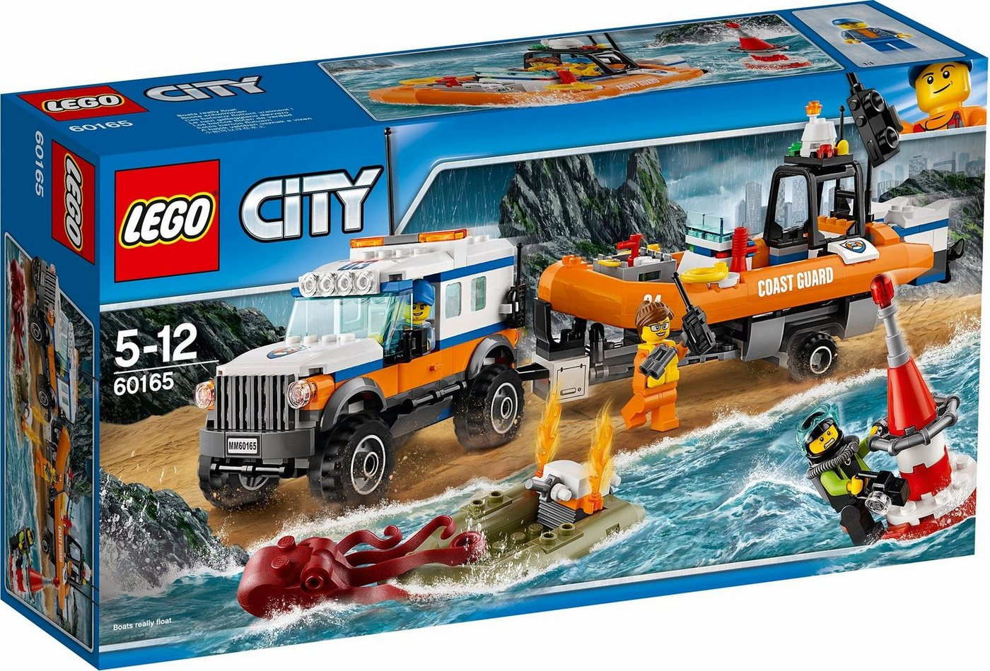 LEGO® 4x4 reddingsvoertuig(60165 ), LEGO® City
