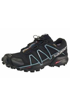salomon runningschoenen »speedcross 4 gore-tex wmns« zwart