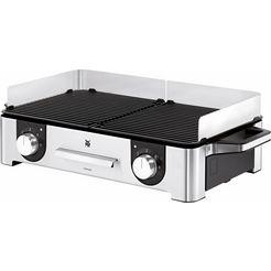 wmf grill lono master-grill, 2400 watt zilver