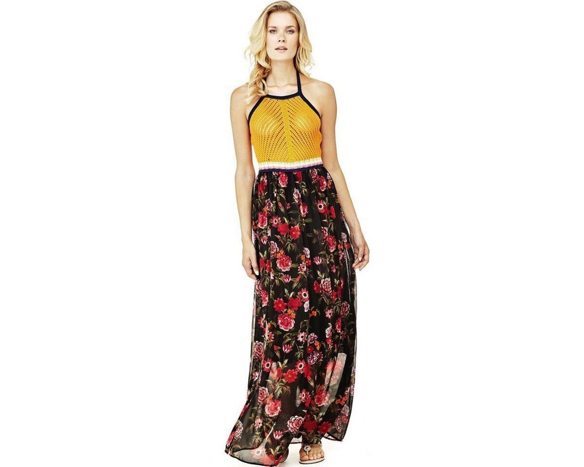 Guess jurk met bloemenprint zwart
