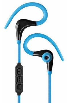 fontastic headset »bluetooth in-ear sport headset« blauw