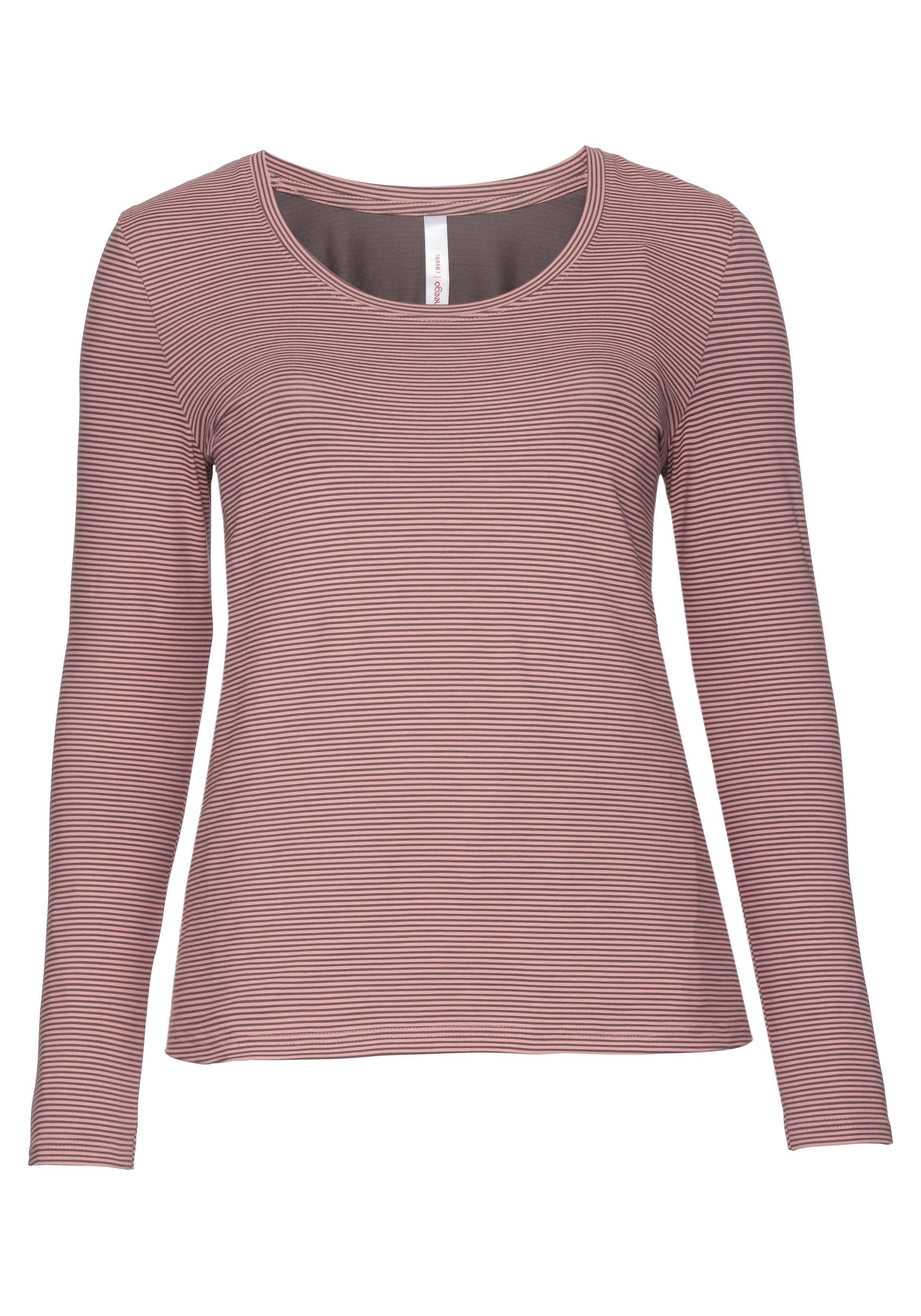 Shirt Sheego Mouwen Lange Casual Vind Je Bij Met nON0PkX8w