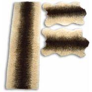 slaapkamerset, »vacht strepen«, kinzler, rechthoekig, hoogte 70 mm, machinaal getuft beige