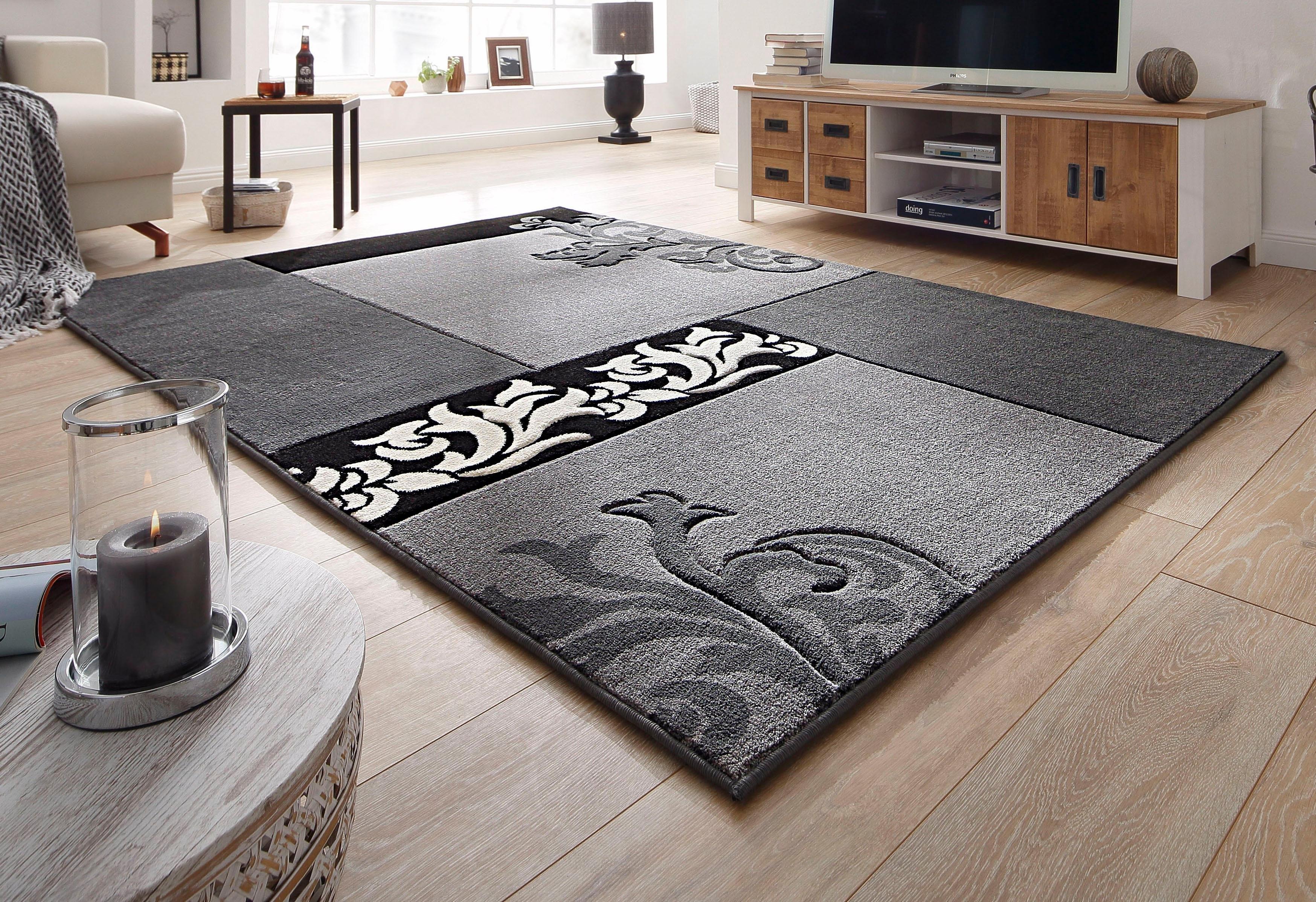 vloerkleed home affaire collection jari geweven snel online gekocht otto. Black Bedroom Furniture Sets. Home Design Ideas