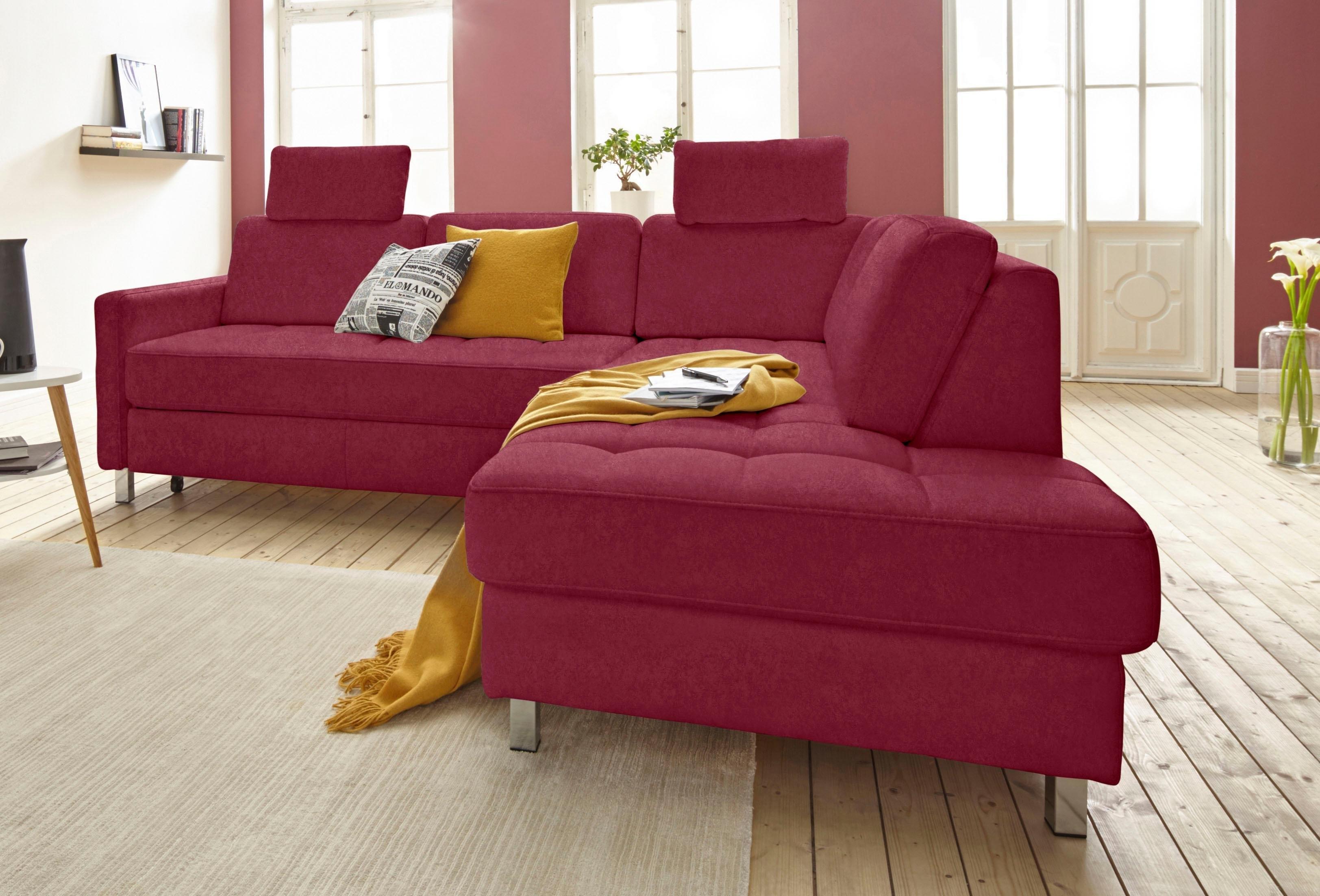Sit&more hoekbank, naar keuze met slaapfunctie en bedkist veilig op otto.nl kopen