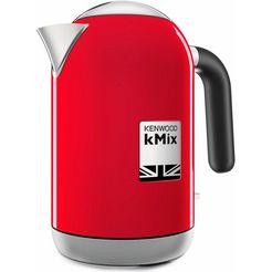 kenwood waterkoker zjx650rd, 1 liter, 2200 w, rood rood