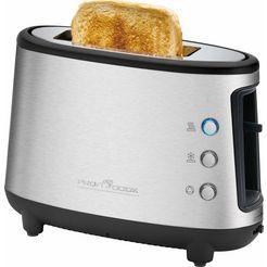 profi cook toaster pc-ta 1122 zilver