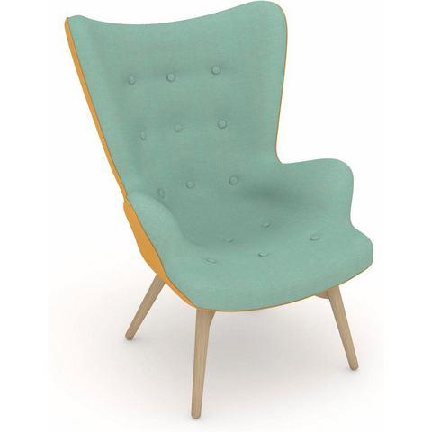 Max Winzer® build-a-chair stoel met hoge rug, fauteuil Arne in retro-look, om zelf vorm te geven