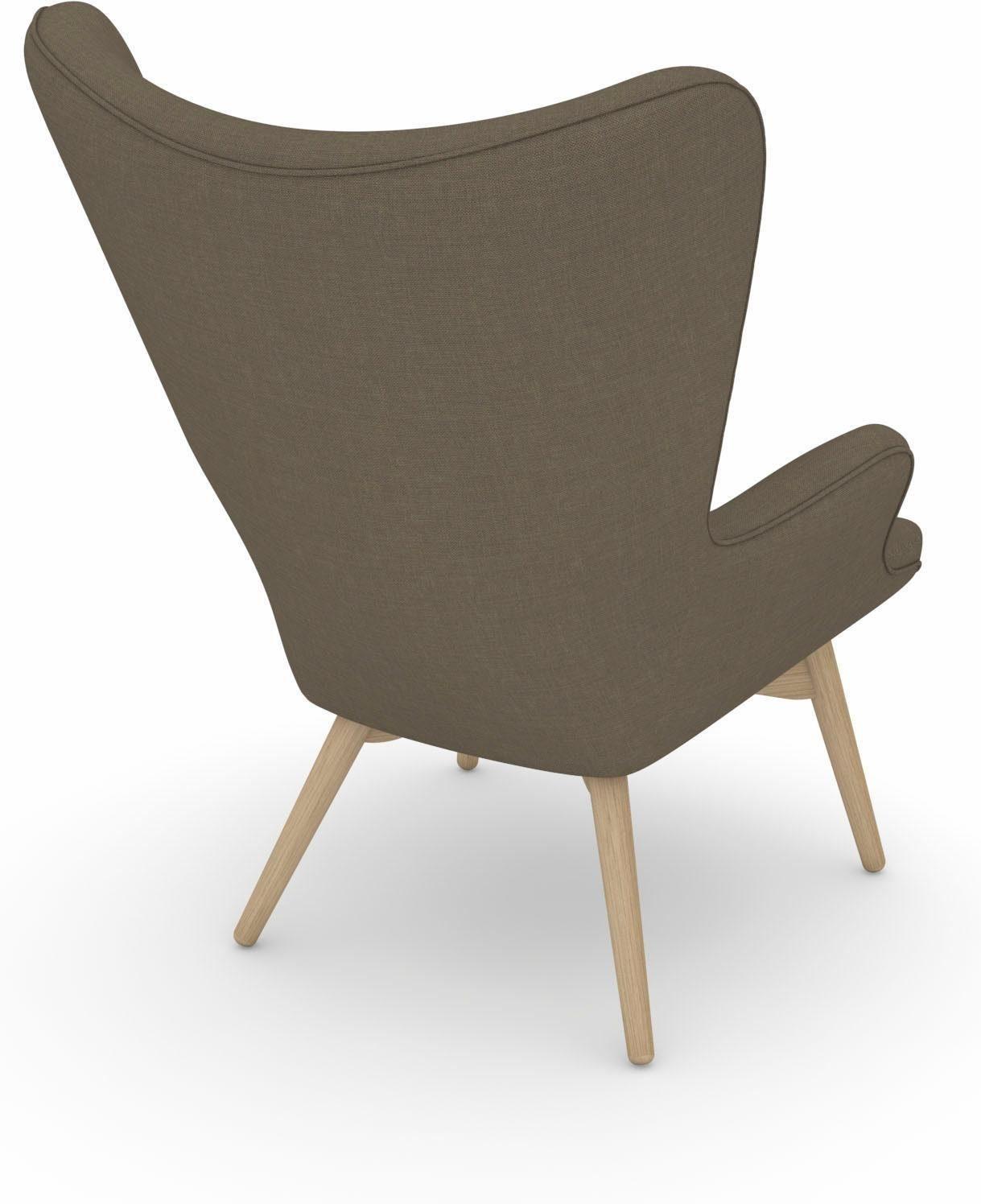 Max Winzer® build a chair stoel met hoge rug, fauteuil »Arne« in retro look, om zelf vorm te geven