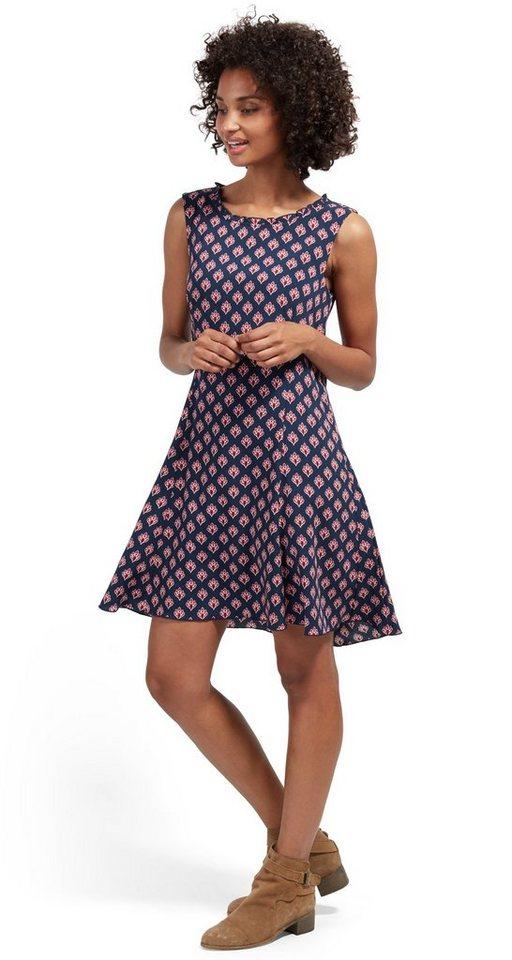 Tom Tailor jurk jurk met motief blauw