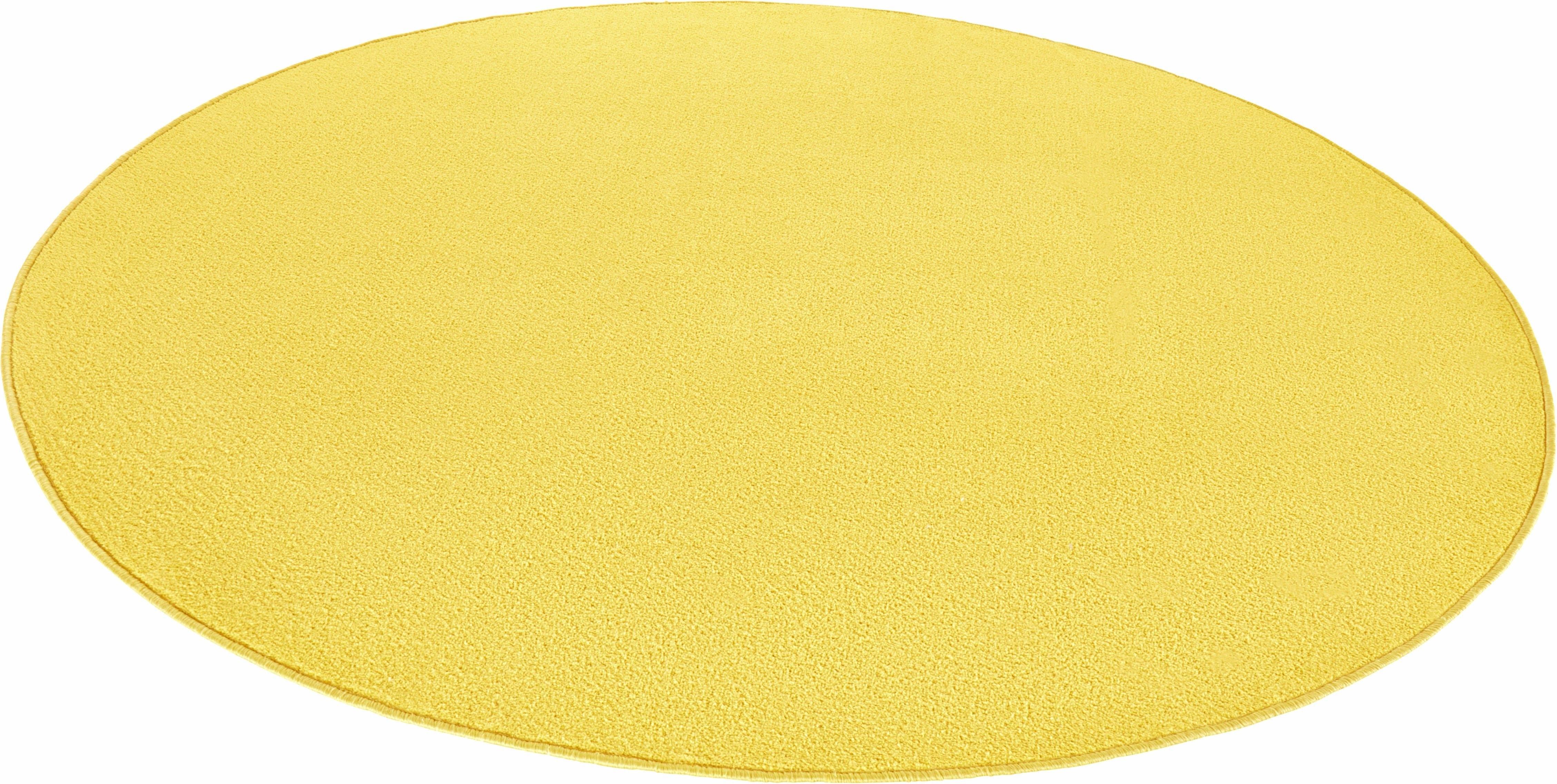 HANSE Home Vloerkleed, »Fancy«, rond, hoogte 7 mm, machinaal getuft - verschillende betaalmethodes