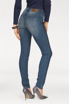 arizona high-waist-jeans slimfit blauw