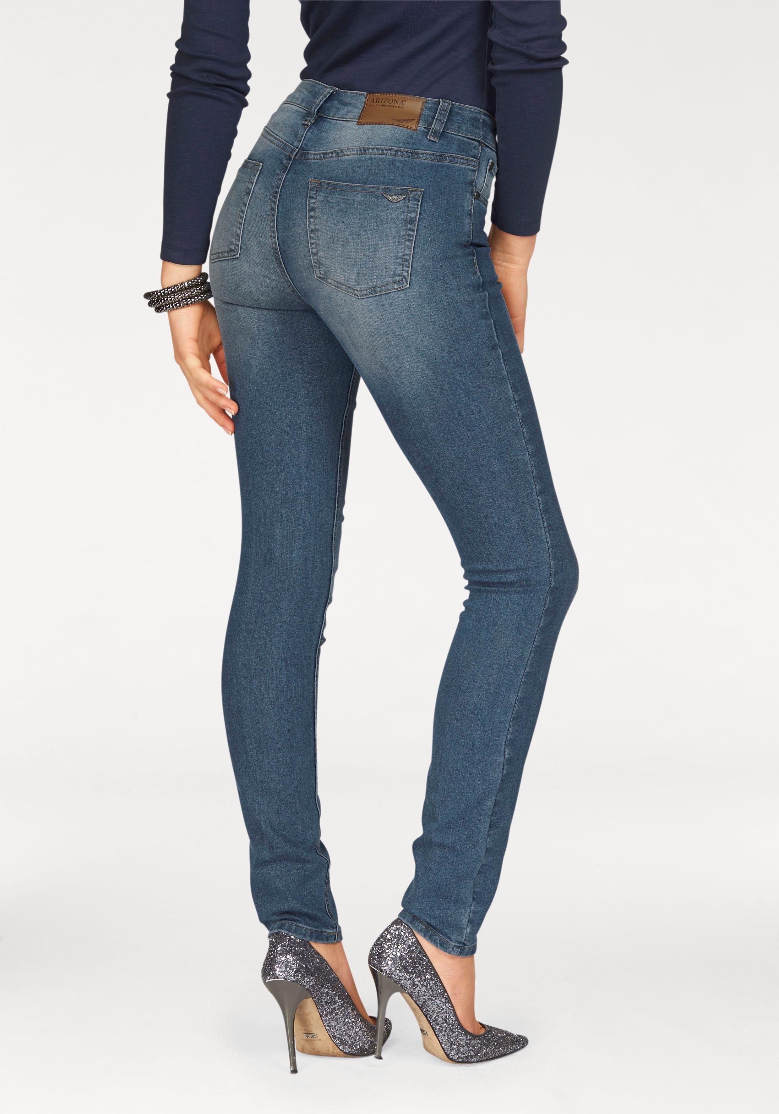588005212e5 ... bootcutjeans »Ultra-Stretch«, Buffalo jeansbermuda met  destroyed-effecten, ARIZONA High-waist-jeans Bootcut, ARIZONA Bootcut-jeans  in five-pocketsstijl