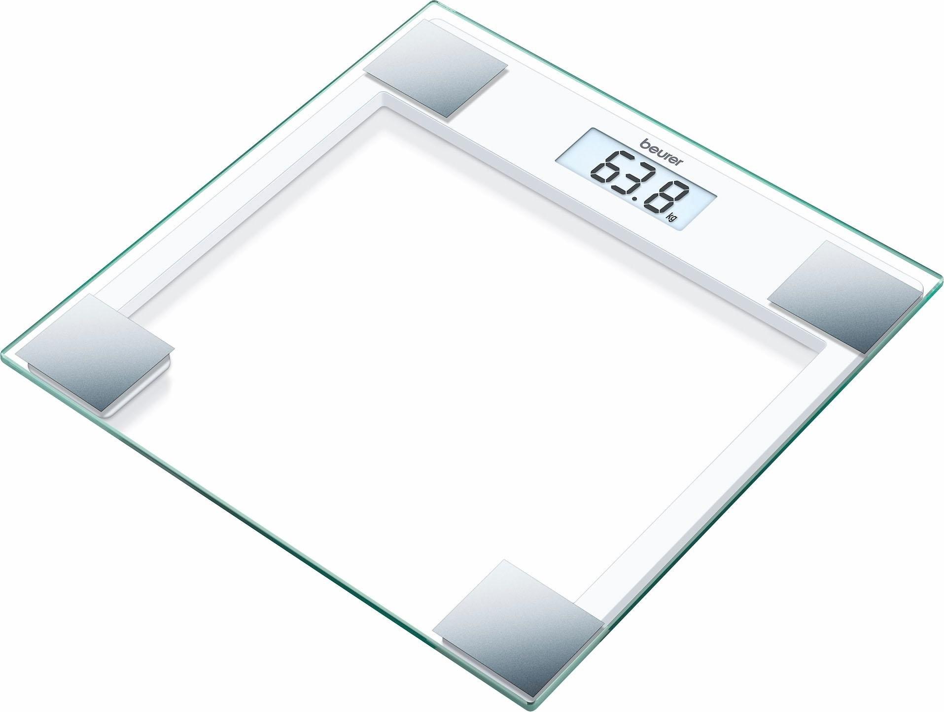 BEURER glazen weegschaal GS 14 in de webshop van OTTO kopen