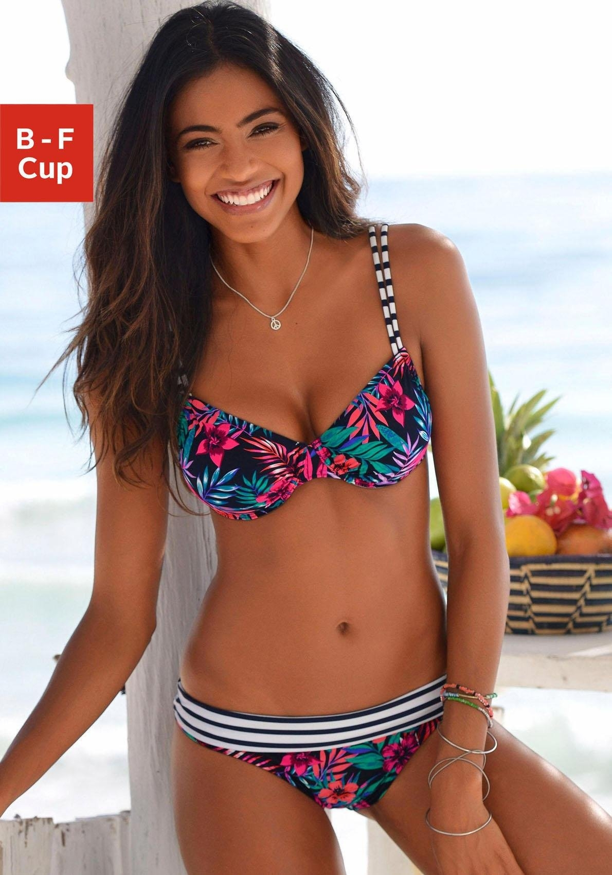 Venice Beach bikinitop met beugels Summer met dubbele bandjes voordelig en veilig online kopen