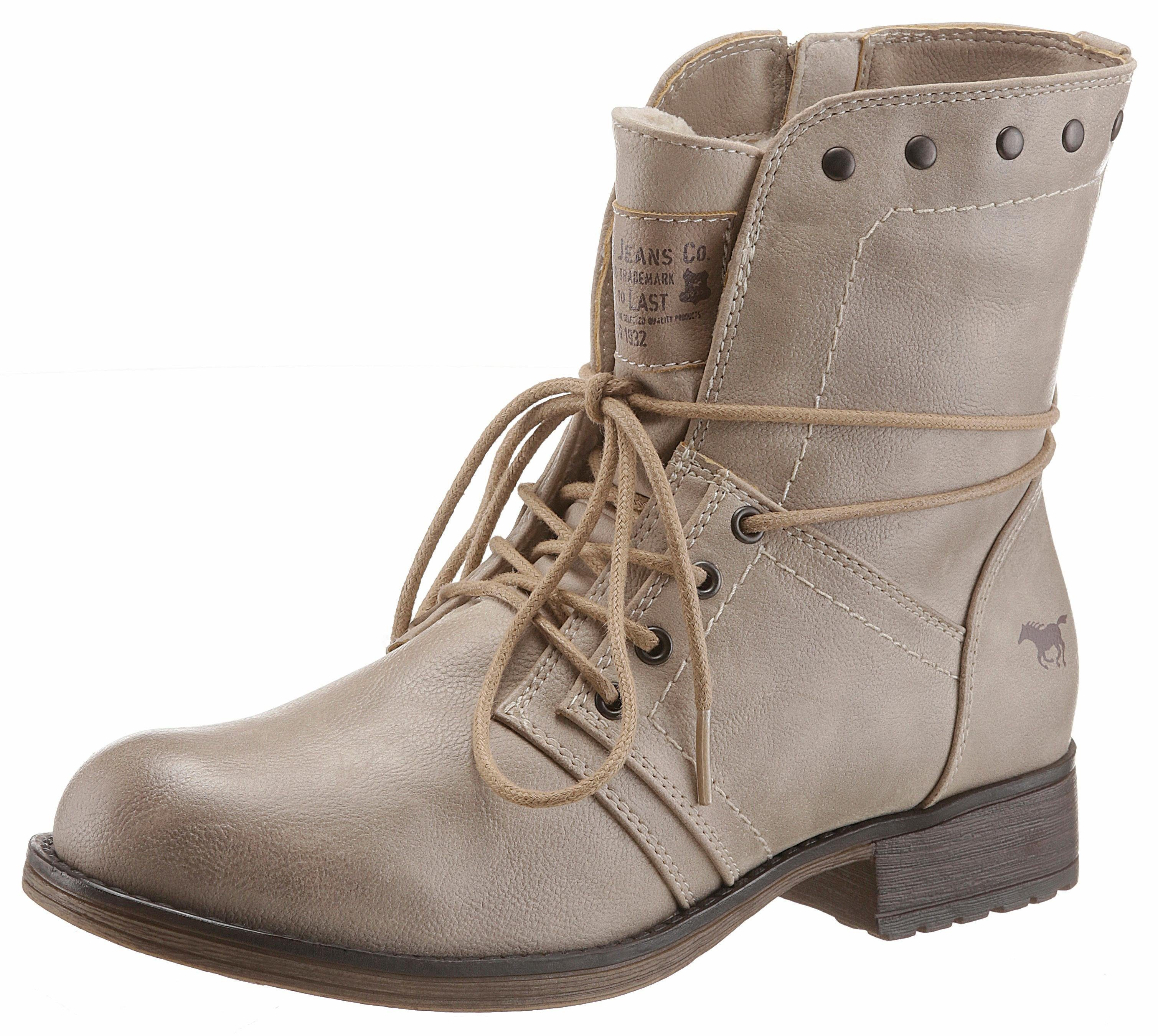 Chaussures Mustang Haut Chaussures À Lacets 2ePLa
