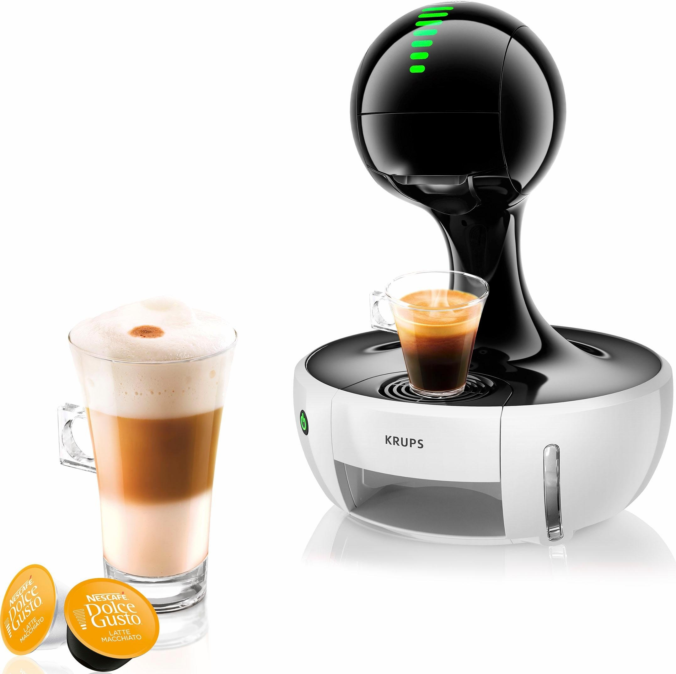 Nescafé Dolce Gusto Krups NESCAFÉ® Dolce Gusto® Koffiecapsulemachine Drop KP3505, rood/zwart online kopen op otto.nl