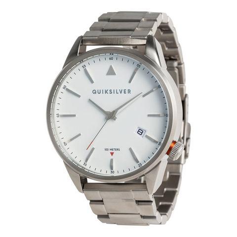 NU 15% KORTING: Quiksilver Analoog horloge The Timebox Metal