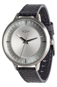 roxy analoog horloge »avenue leather« zwart