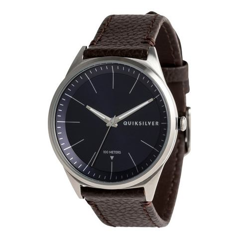 NU 15% KORTING: Quiksilver Analoog horloge Bienville Leather