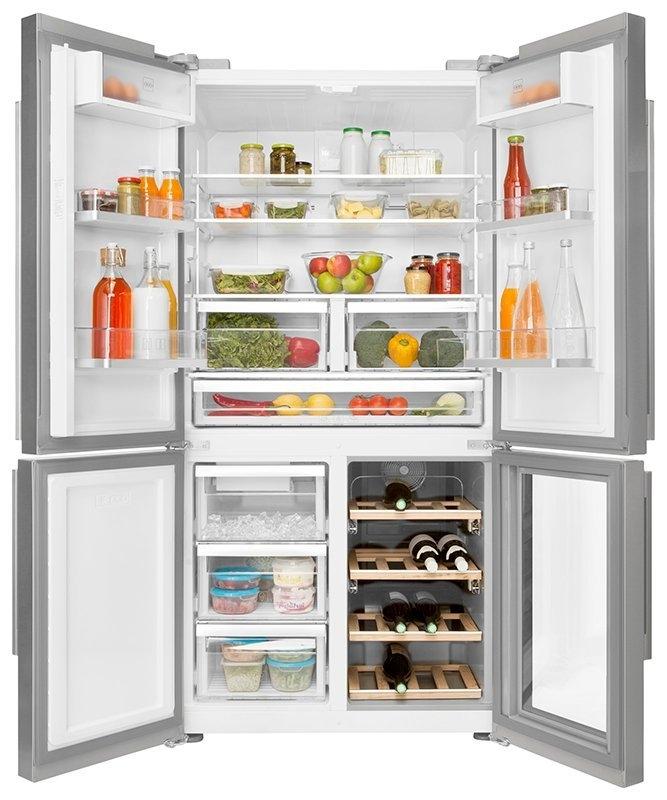 Beko Side-by-side koelkast GN 1416220 CX - verschillende betaalmethodes