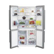 beko side-by-side koelkast gn 1416231jx zilver