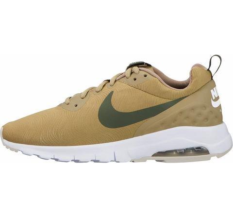 Nike Air Max damessneaker beige en groen
