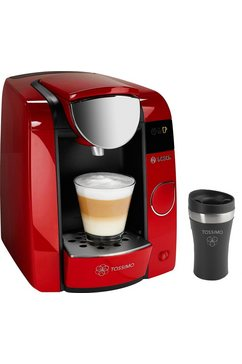 Bosch Tassimo Multi-dranken-automaat  JOY TAS4503, rubin red / antraciet