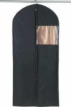 wenko kledinghoes deep black (set, 3 stuks) zwart