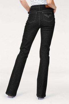 arizona bootcutjeans »comfort-fit« zwart