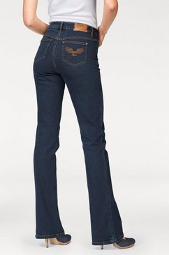 arizona bootcutjeans »comfort-fit« blauw