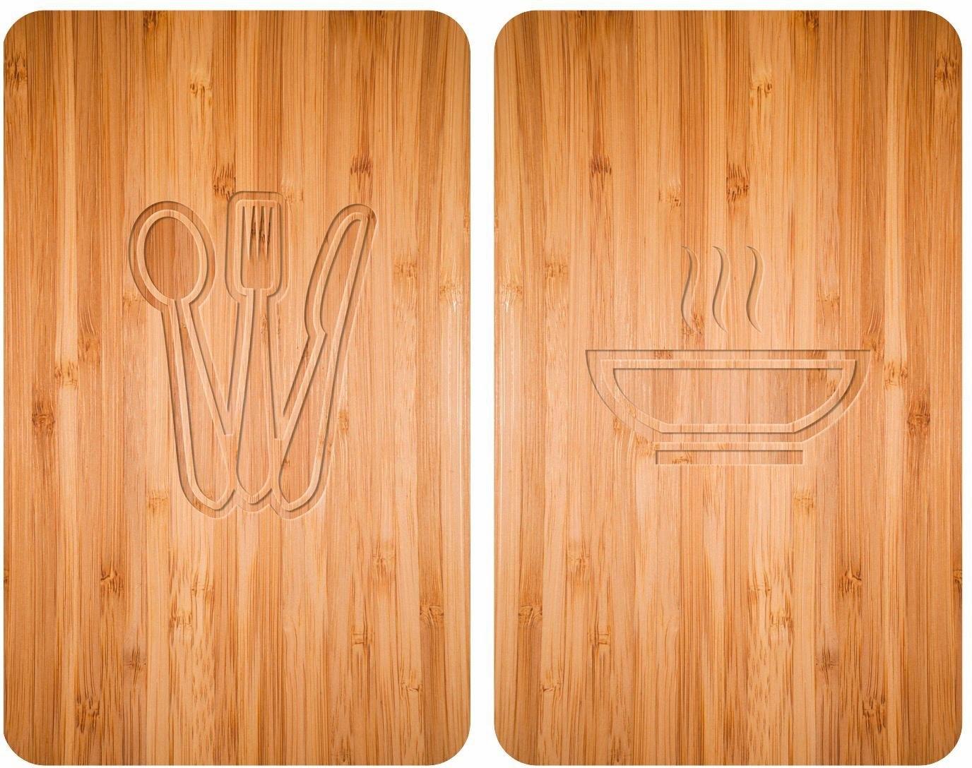 WENKO kookplaatafdekblad, set van 2, 30 x 52 cm, »Lunch« bij OTTO online kopen
