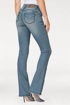 arizona bootcut jeans »shaping« blauw