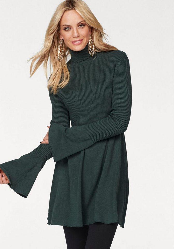 Vero Moda tricotjurk NORWALK groen