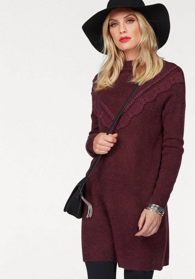 Vero Moda tricotjurk NOVATO rood