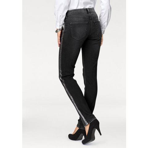 Mac NU 15% KORTING: MAC rechte jeans Carrie Pipe Galon