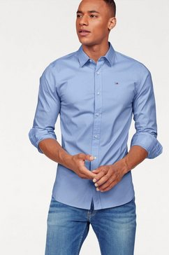 tommy jeans overhemd »sabim shirt« blauw