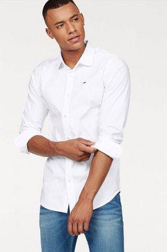 tommy jeans overhemd »sabim shirt« wit