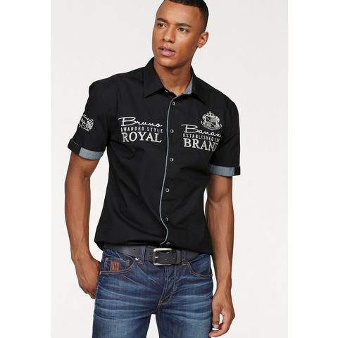 BRUNO BANANI Overhemd met korte mouwen