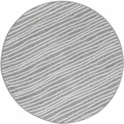 vloerkleed, »bolonia 562«, andiamo, rond, hoogte 6 mm grijs