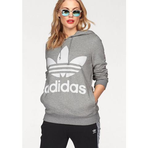 adidas-Hoody Trefoil in grijs
