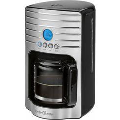 profi cook filterkoffieapparaat pc-ka 1120, koffiepot 1,7 l, filter 1x4 zilver
