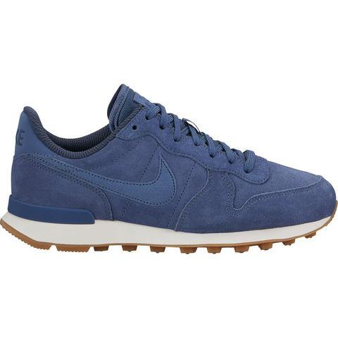 Nike Internationalist damessneaker blauw