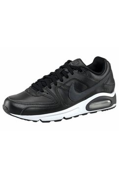 nike sneakers air max command leather zwart