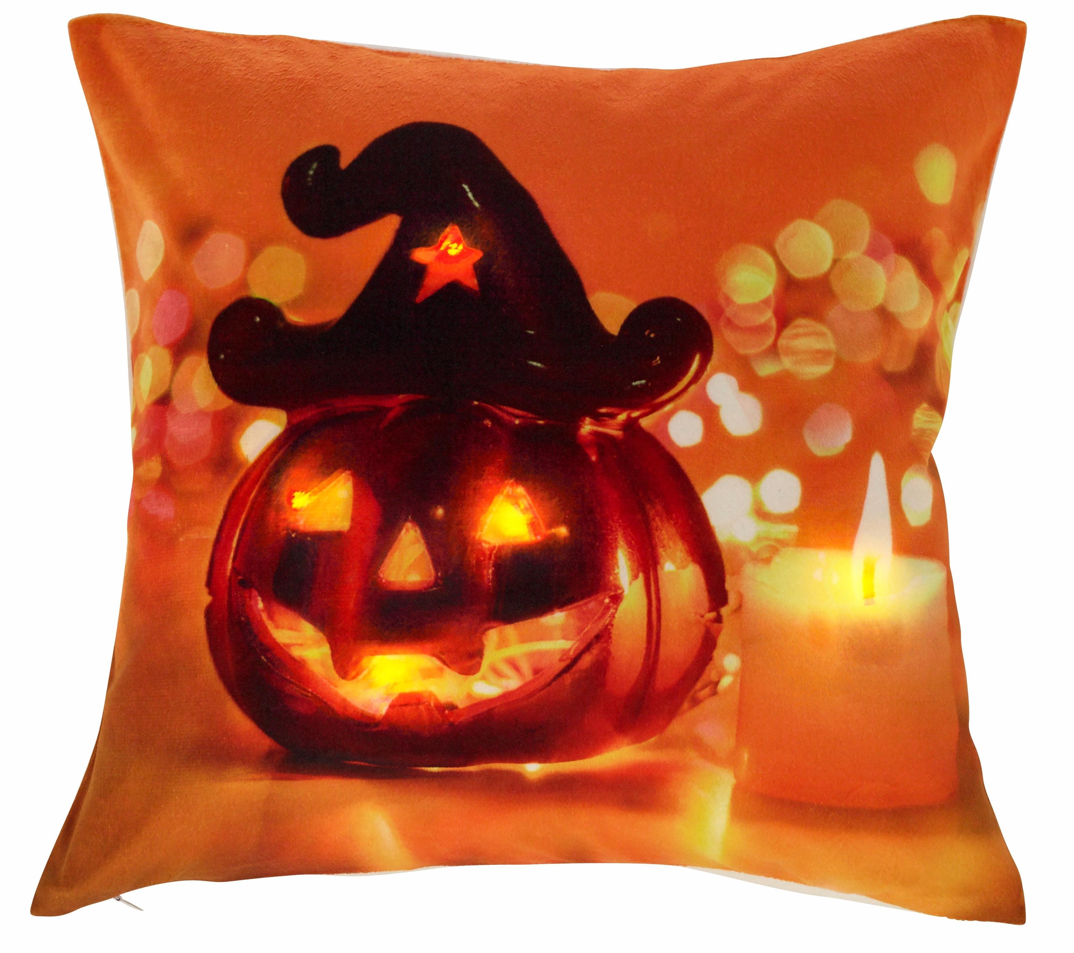 My Home LED-kussenovertrek, 'Pumpkin' (per stuk) nu online bestellen