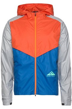 nike runningjack nike windrunner men's trail running jacket oranje