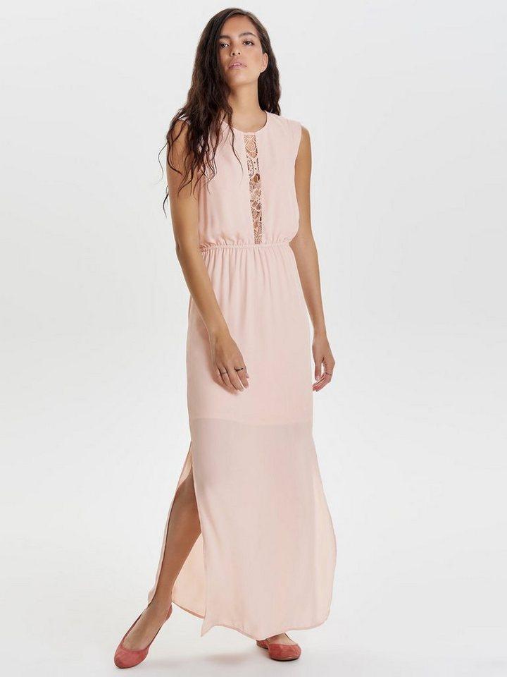 ONLY Lange jurk roze
