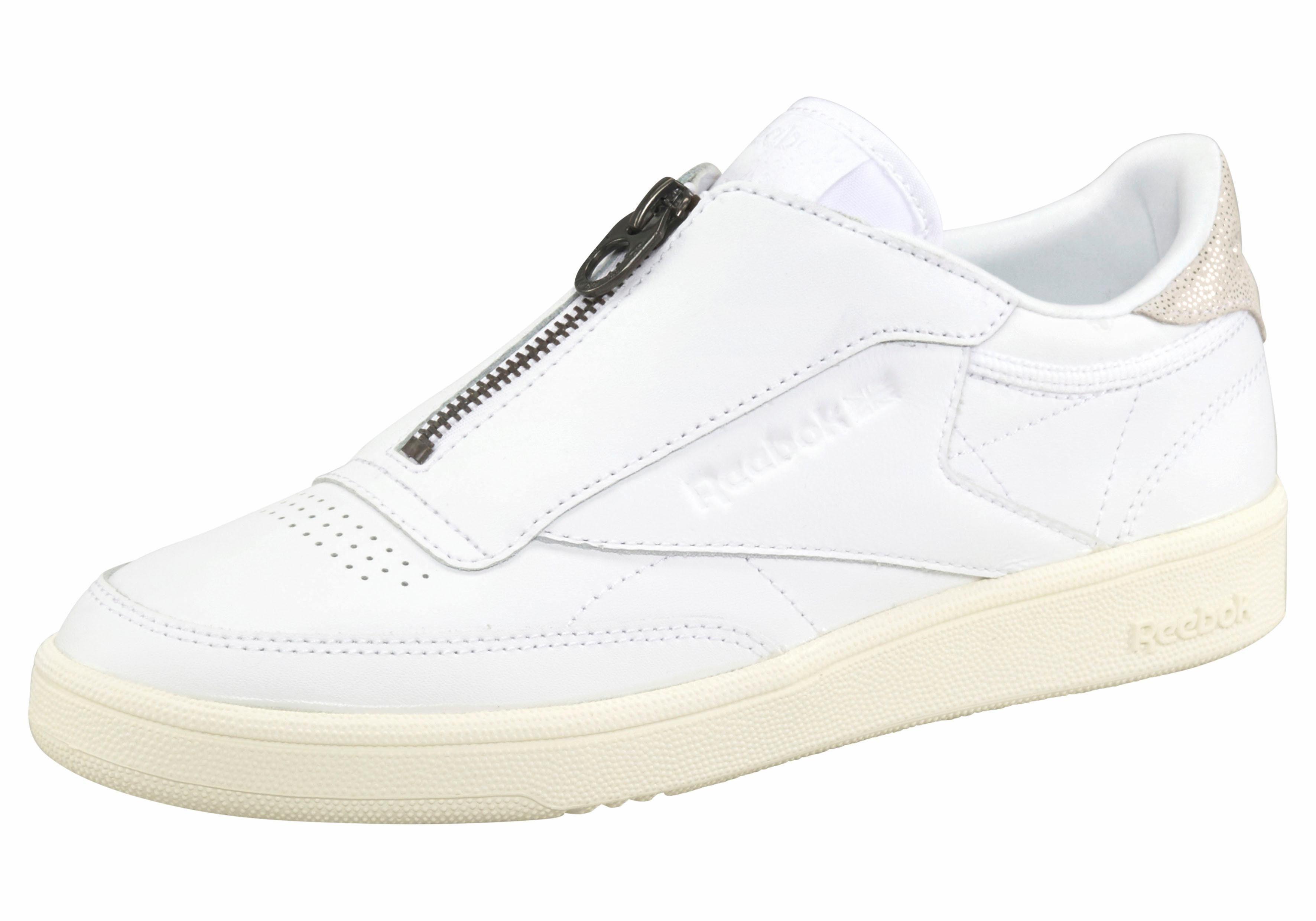 Reebok Club 85 C Chaussures Sneakers Zip W Lo Noir Noir wl5iauH